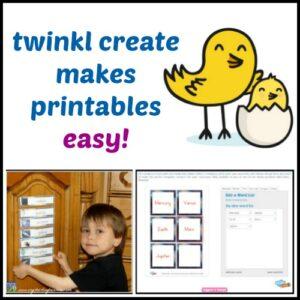 twinkle create makes printables easy
