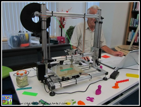 3D Printer demonstration at the library