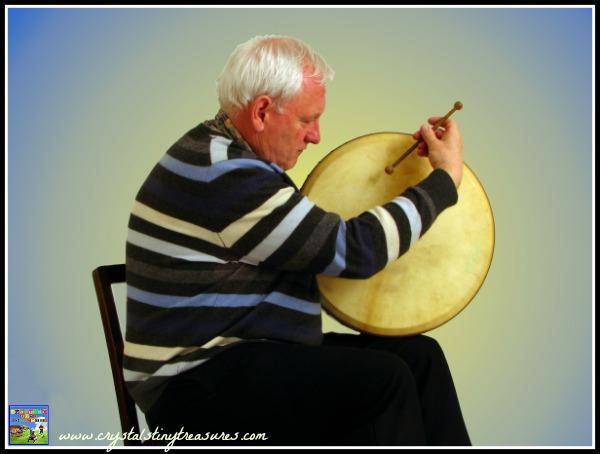 Bodhram drum playing