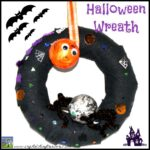 Halloween Wreath For Kids