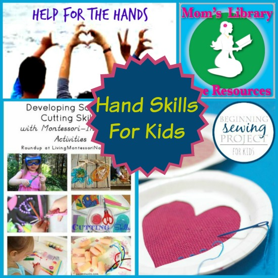 Hand Skills For Kids on Mom's Library with Crystal's Tiny Treasures