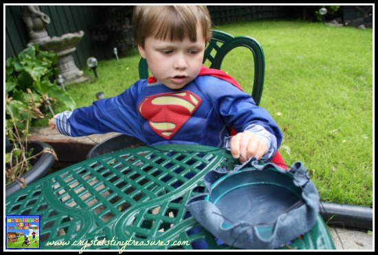 Fine motor coordination with a needle and thread, sewing projects for boys, imitation bodhran drum for kids
