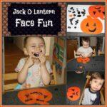 Jack-O-Lantern Face Fun For Preschoolers