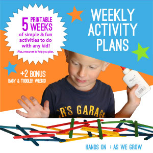 Weekly Activity Plans HOAWG