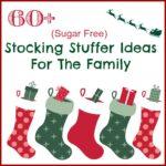 60+ Sugar Free Stocking Stuffers Ideas