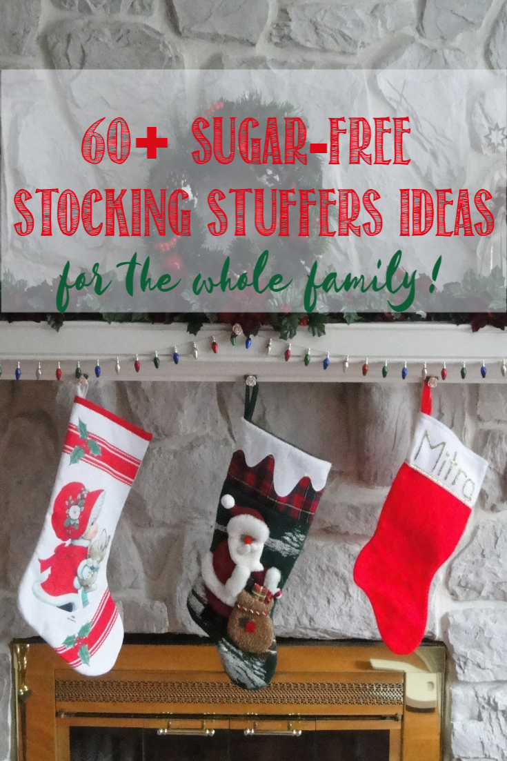 60+ Sugar Free Stocking Stuffers Ideas For the Whole Family at Castle View Academy homeschoool