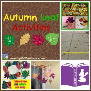 Autumn Leaf Activities