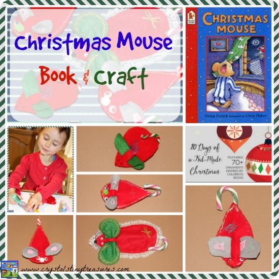 Christmas Mouse Book and a Felt Mouse Craft