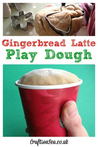 Christmas-playdough-Gingerbread-latte-scented