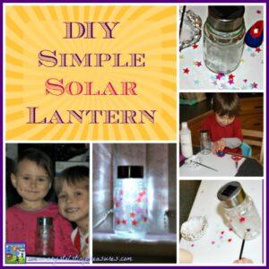DIY Simple Solar Lantern Solar Tuki inspired by the book Chandra's Magic Light
