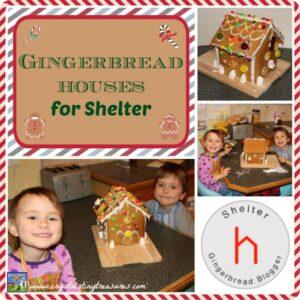 Gingerbread Houses For Shelter