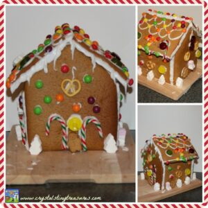 Gingerbread house made by kids for charity Shelter, homeless charity in the UK, Christmas charities, fundraisers
