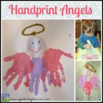 Handprint Angels are a Christmas keepsake