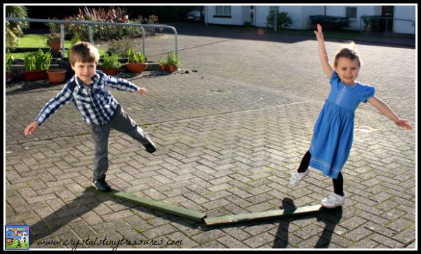 Sky Dancing balance practicing