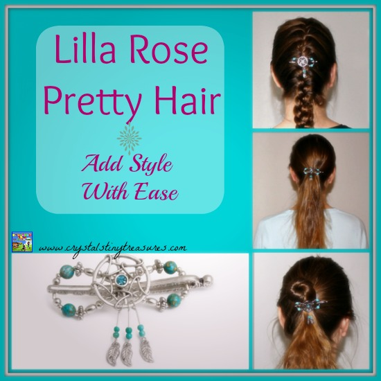 Lilla Rose Pretty Hair Adds Style With Ease