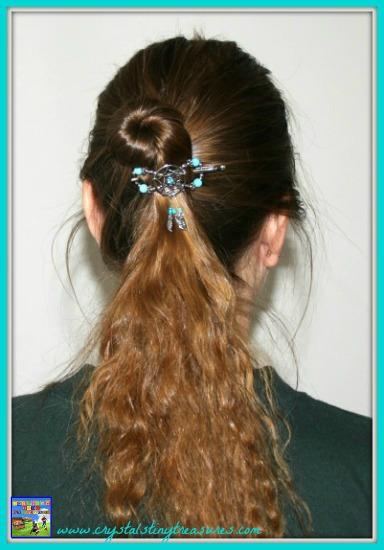 Lilla Rose Pretty Hair Dream Catcher in a twist