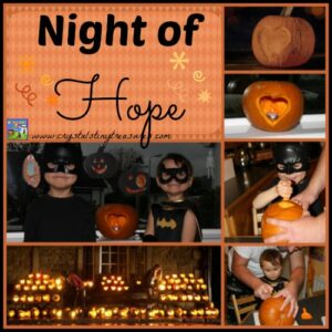 Night of Hope with World Vision and Crystal's Tiny Treasures