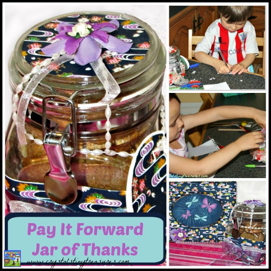 Pay It Forward Jar Of Thanks