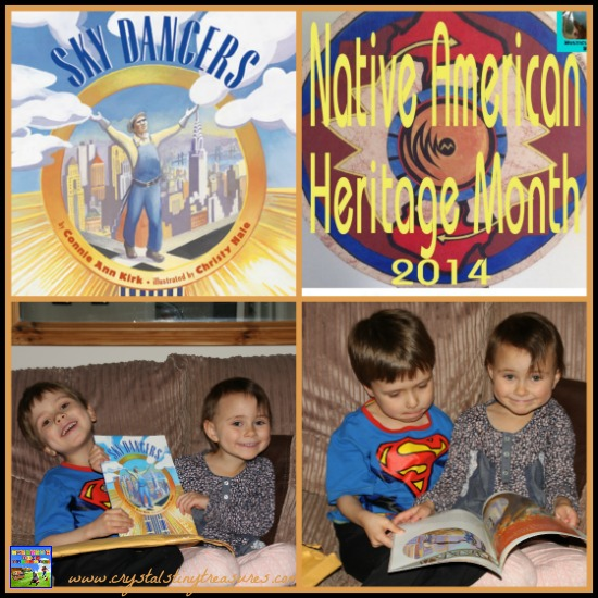 Sky Dancers and Native American Heritage Month