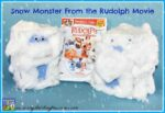 Snow Monster craft from the Rudolph The Red-Nosed Reindeer Movie