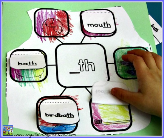 Th diagraph interactive notebook activity, phonics fun for kids
