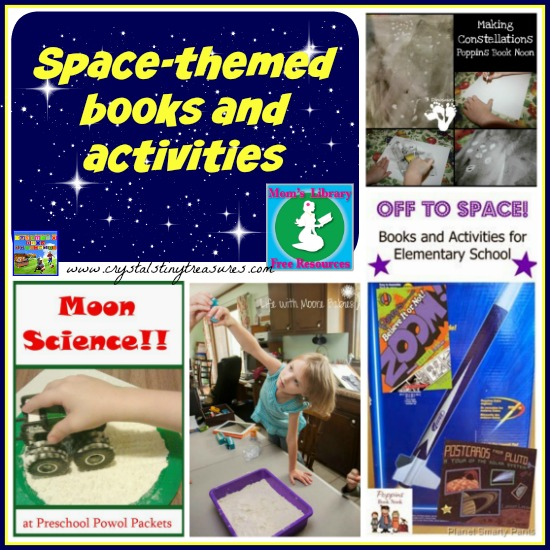space books and activities