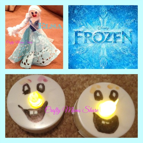 Frozen Craft Collage