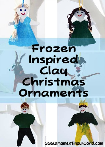 Frozen-Inspired-Clay-Christmas-Ornaments