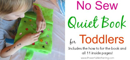 No-sew-quiet-book