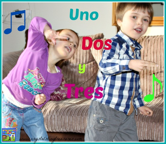 Uno Dos y Tres Spanish lessons Whistlefritz song