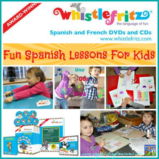 Whistlefritz Fun Spanish Lessons For Kids, A Review