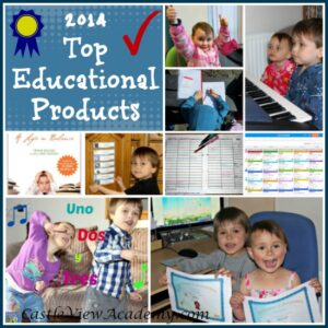 2014 Top Educational Products as reviewed by Castle View Academy & Crystal's Tiny Treasures