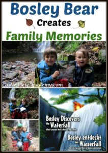 Bosley Discovers The Waterfall creates family memories