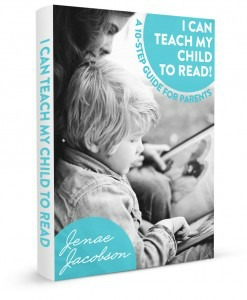 I can teach my child to read