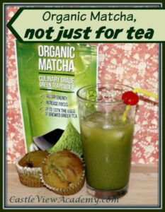 Organic Matcha is not just for tea