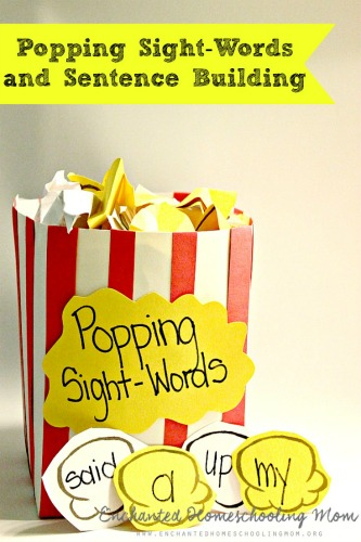 Popping-Sight-Words-and-Sentence-Building