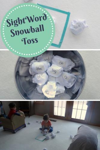 Sight-Word-Snowballs