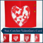 Kids Valentines Sun catcher Card by Castle View Academy