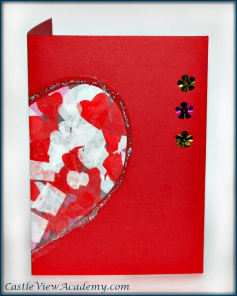 Valentine's Card made with love