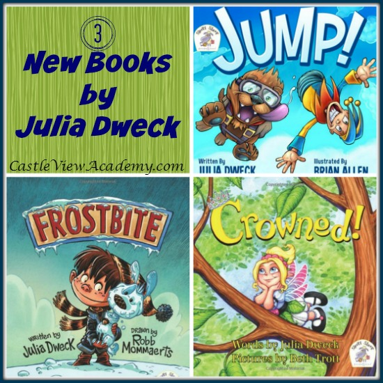 3 New Books By Julia Dweck