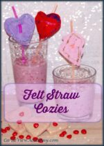 Valentine's Straw Decoration