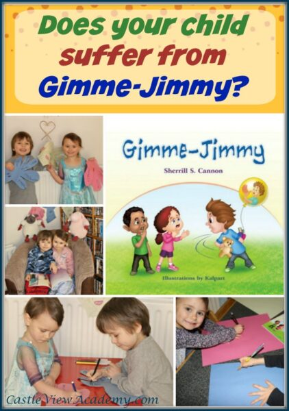 Gimme-Jimmy by Sherrill S. Cannon and reviewed by Castle View Academy