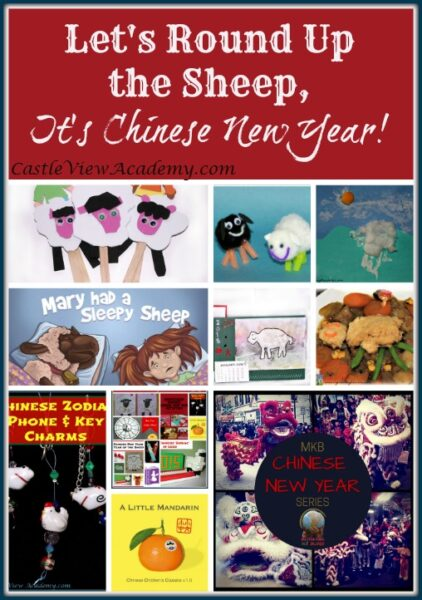 Round up the Sheep, it's Chinese New Year with MKB And Castle View Academy