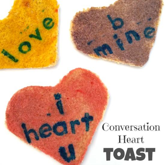 conversation toast