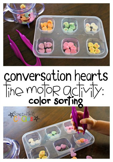 conversation-hearts-fine-motor-color-sorting