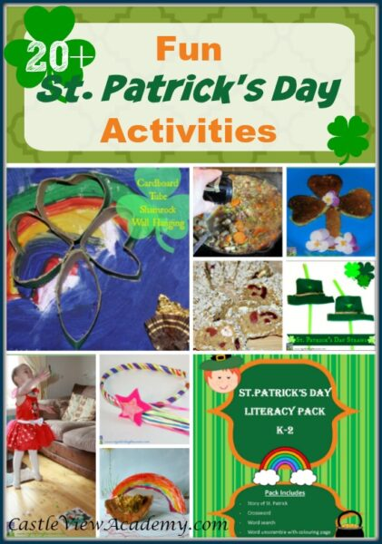 20+ Fun St. Patrick's Day Activities For Kids