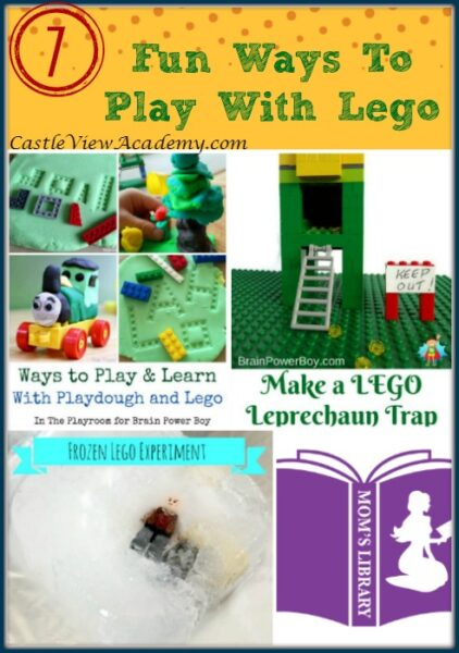 7 Fun Ways To Play With Lego on Mom's Library