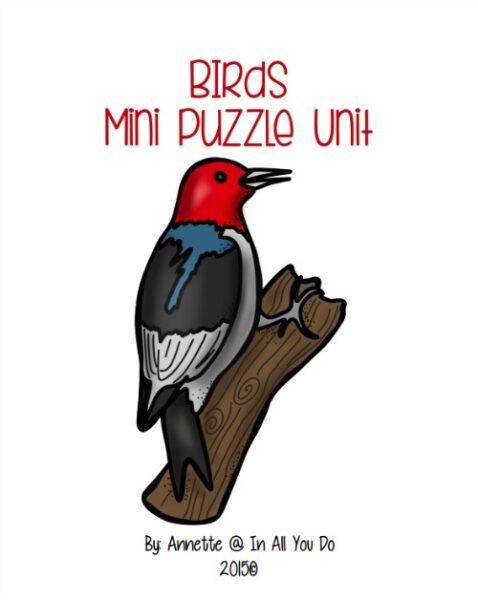 Birds Mini Puzzle Unit