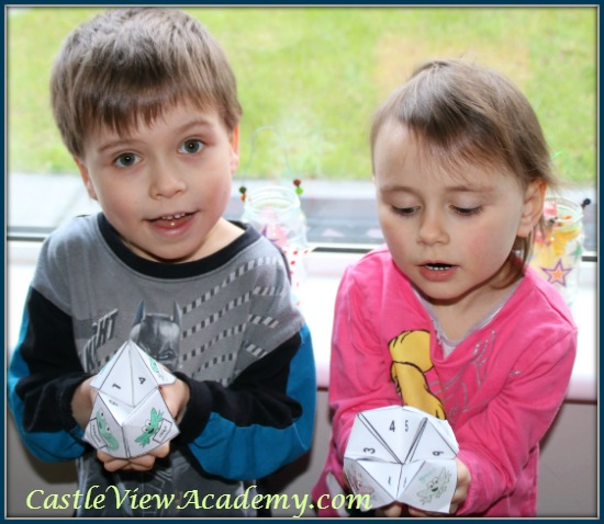 Frog Facts cootie catchers by the Wise Owl Factory are so much fun!