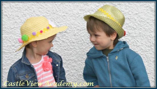 Fun and fabulous Easter hats for kids